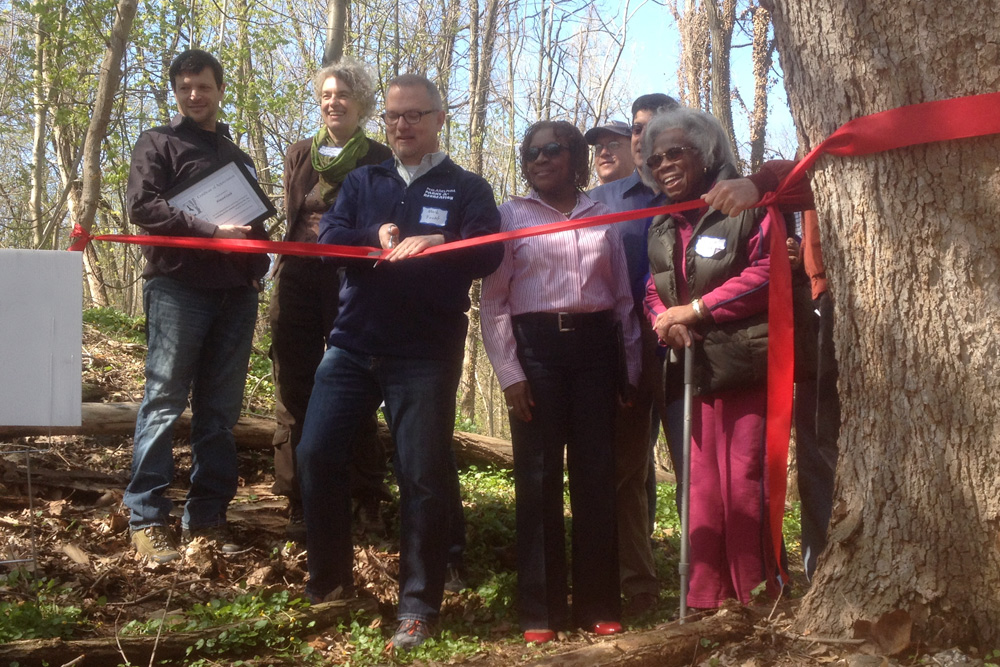 Wissahickon East Officially Welcomed Into Fairmount Park