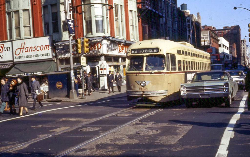 Capturing Late 1960s Philadelphia Trolleys Neon