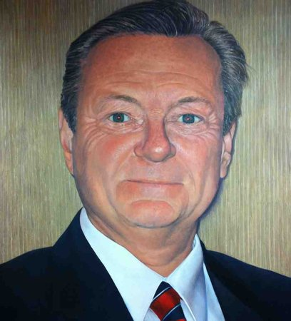 Carpenter's Union Head Ed Coryell | Photo (of oil painting): The Inquirer