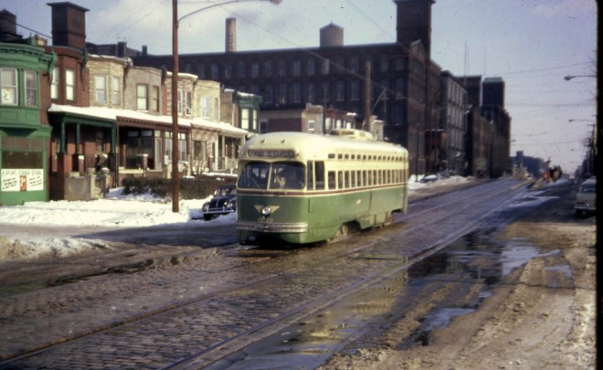 Looking east on Allegheny at 3rd, 1966 Photo: David Wilson