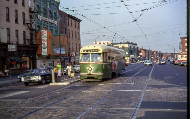 7th and Girard looking east, 1968 | Photo: David Wilson