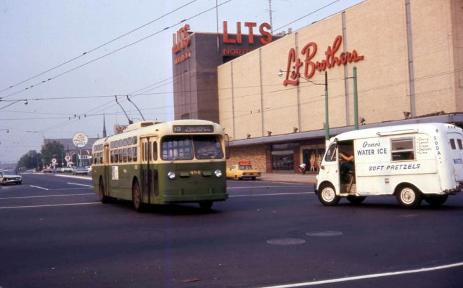 Castor and Cottman Avenues, 1967 | Photo: David Wilson
