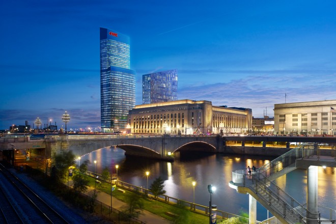 A view into the near future at Cira Centre South | Rendering courtesy of Brandywine Realty Trust and Pelli Clarke Pelli