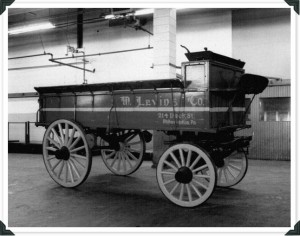 The wagon in question started carrying bananas circa 1906 | Photo courtesy M. Levin & Co.