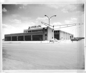 M. Levin's Pattison Avenue facility circa 1956, shortly after it was built | Photo courtesy Morris Levin
