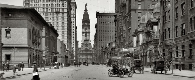 Looking north from Pine Street, 1905   Source: Detroit Publishing Company