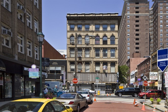 The Le Gar Building, southwest corner of 8th and Sansom | Photo: Peter Woodall