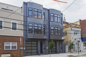 The two single family houses on 8th Street just south of South Street built by Volpe | Photo: Peter Woodall