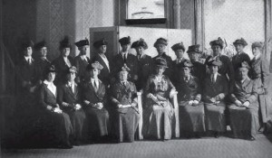 EAP Executive Committee during the war, 1914-19 | Image via Philadelphia in the World War 1914-1919, published 1922