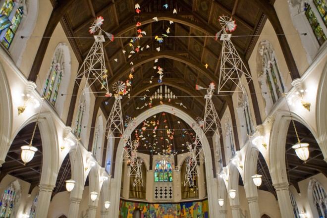Colorful, festive Broad Street Ministries | Photo: Bradley Maule