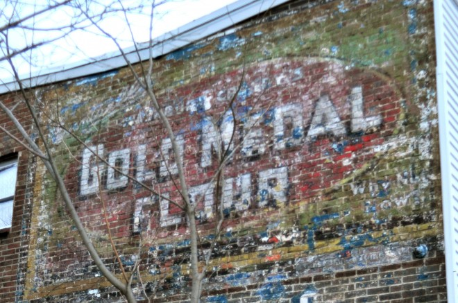 Gold Medal Flour ghost sign in Frankford | Photo: Peter Woodall