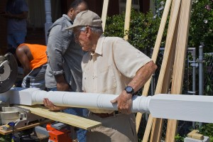 Don B. Smith, a volunteer from Bryn Mawr Presbyterian Church | Photo: Peter Woodall
