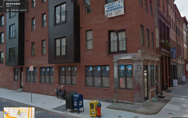 The southeast corner of 3rd and Vine | Source: Google Streetview