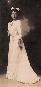 A young Laura Leggett, prior to her marriage to Albert Barnes   Photo courtesy of the Barnes Arboretum
