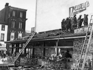 Dewey's post-fire, 1969