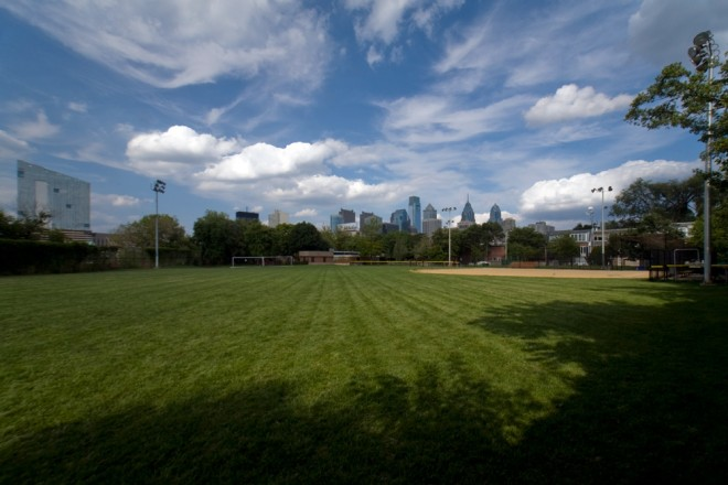 Field of dreams: the Taney Dragons' home ballfield | Photo: Bradley Maule