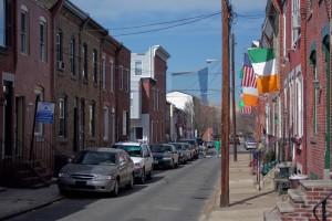 Taney Street, long the home of Irish pride in the Devil's Pocket | Photo: Bradley Maule
