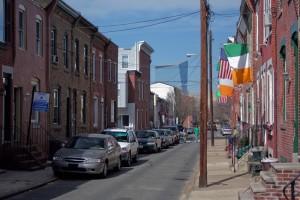 Taney Street, long the home of Irish pride in the Devil's Pocket | Photo: Bradley Maule