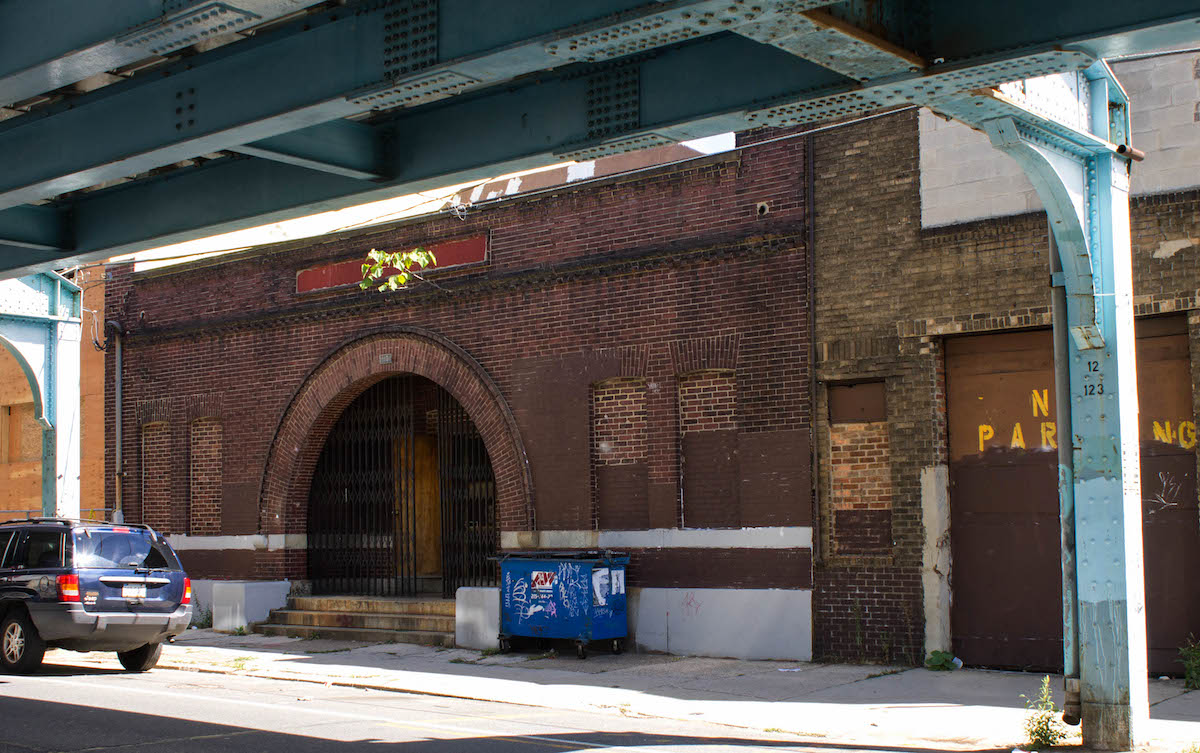 An Antique Swimming Hole Under The El