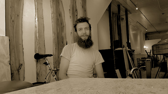 "Will Durwall, Part owner ""Winwin Coffee Bar""        Photo 