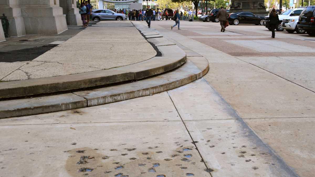 City Hall Apron To Be Redone Hidden City Philadelphia