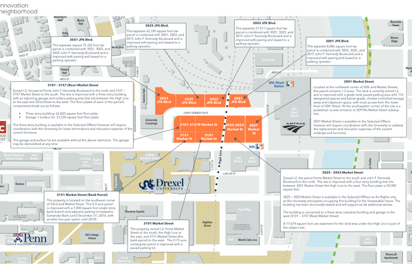 Drexel University proposed Innovation Neighborhod