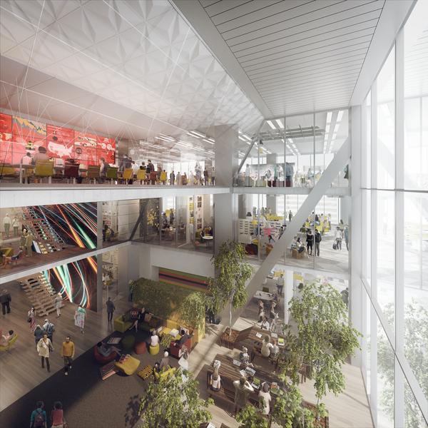 Gensler to design next comcast building s interiors hidden city philadelphia Philadelphia interior design firms