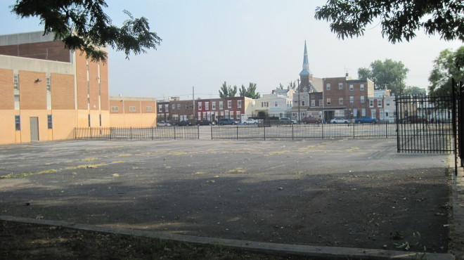 Hackett schoolyard | Photo:  Heidi Segall Levy
