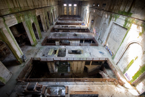 Delaware Station's main turbine hall | Photo: Chandra Lampreich