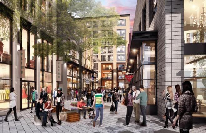 Rendering of Chestnut Walk: National Real Estate Development