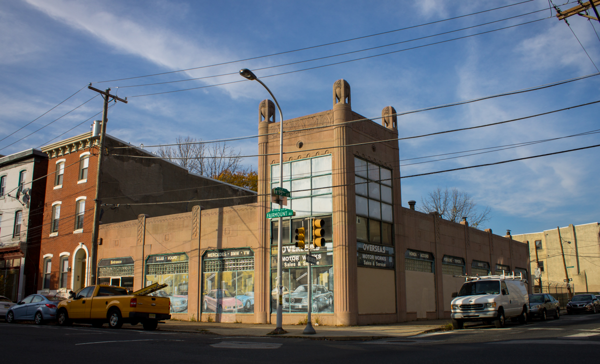 Historical Commission Approves Designation Of Art Deco Auto Showroom On Fairmount Avenue