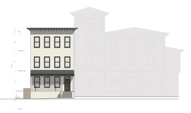 Rendering for 3301 Baring Street | Harman Deutsch