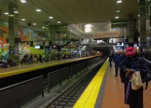 Train's comin': Market East Station | Photo: Michael Bixler
