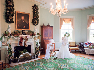 "In Fairmount Park, ""Unsurpassed"" Collection Of Mansions Dressed For The Holidays"