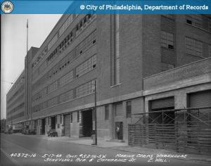 The Schuylkill Warehouse in 1949 | PhillyHistory.org