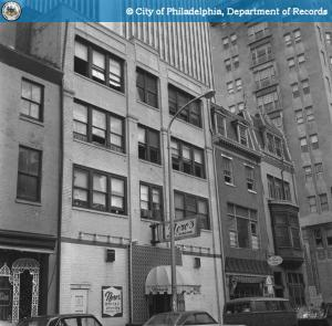 In 1971 with Nero's on the ground floor | PhillyHistory.org