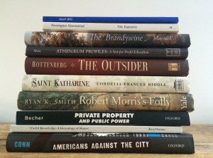 A Philly 2014 bookstack | Photo: Nathaniel Popkin
