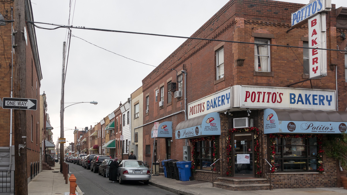 Baking Yuletide Cheer at Potito's in South Philly