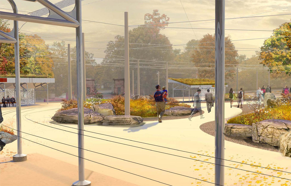 Public Green Plans For 40th Street Trolley Portal To Break Ground In 2015