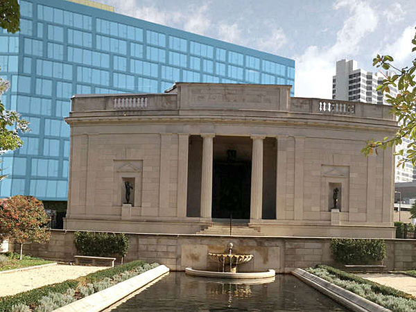 Philly, this view of the Rodin Museum could be yours!
