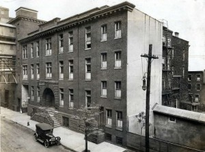 Stetson Hospital with long-lost Nurses Home still attached | Source: Ballinger Collection, Athenaeum of Philadelphia