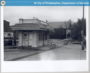 Still in use as a Gulf Station ,1970 | Source: PhillyHistory.org