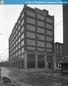 The Kahn Building as the U.S. Veteran's Bureau, 1928 | Source: PhillyHistory.org