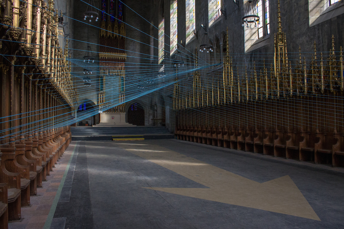 Seeing Between The Ci-Lines: St. Andrew's Chapel Awakened With Art And Geometry