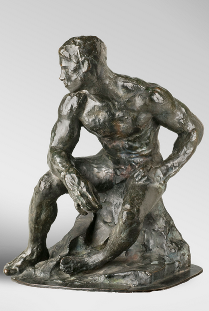 The Athlete, by Auguste Rodin | Photo: Courtesy of the Rodin Museum