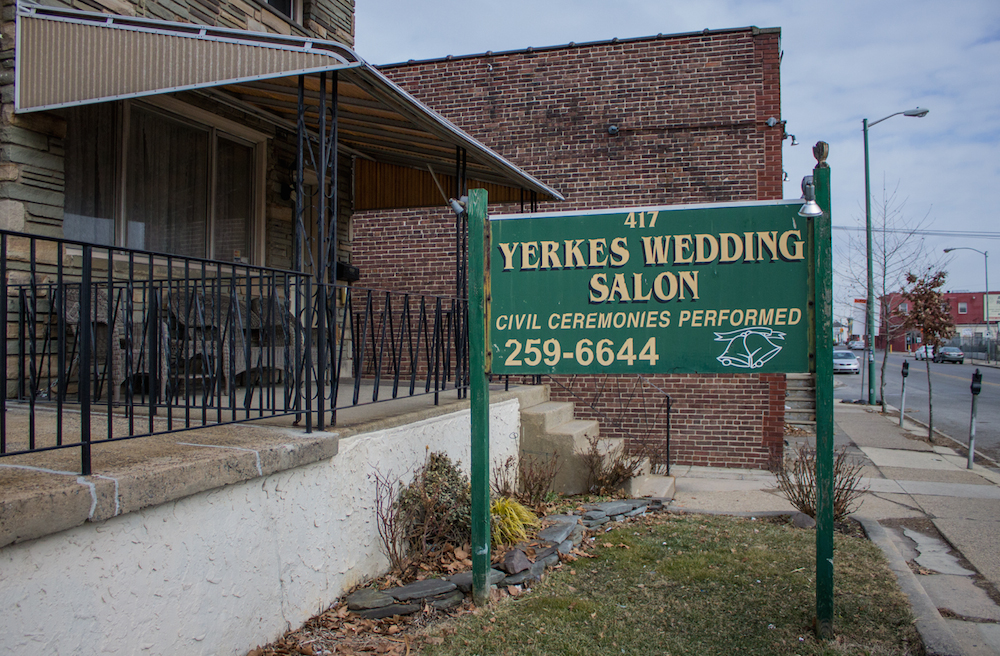 A Row House Full Of Romance At Yerkes Wedding Salon