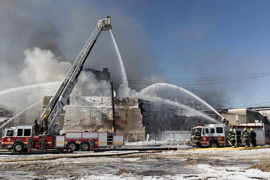 Close Call For Bromley Carpet Factory After 3-Alarm Fire In Neighboring Building