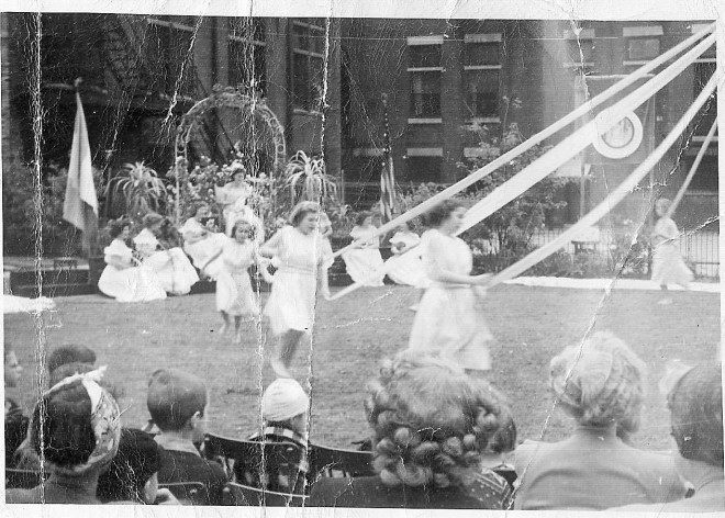 Maypole Dance at Southern Home