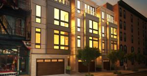 Ross Luxury Townhomes | Image: Landmark Architects
