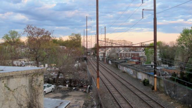 Media-Elwyn Regional Rail tracks